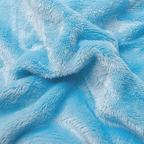 Prostěradlo MIKROFLANEL SLEEP WELL 90x200cm, světle modré