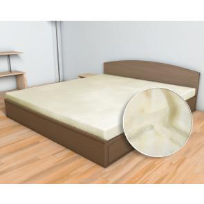 Dětské prostěradlo MIKROFLANEL SLEEP WELL 60x120cm do postýlky, měsíční třpyt